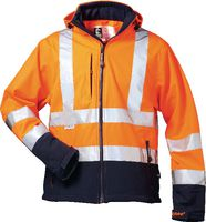 SAFESTYLE Warnschutz-Softshell Jacke Bill L/orange - toolster.ch