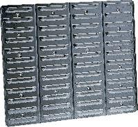 RAACO Sichtboxen-Wandpaneel BWP 1 / 520 x 440 mm - toolster.ch