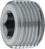 Verschlussschraube mit Innensechskant Stahl blank konisch M 10 x 1 - toolster.ch