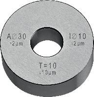 Prüflehre für Messschieber Aussen-Ø 30 mm, Innen-Ø 10 mm Ø 30 / Ø 10 - toolster.ch