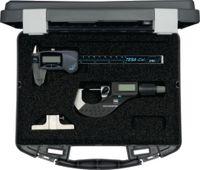 TESA Messwerkzeugsatz 4-teilig, im Kunststoffetui CONTROL-SET DIGITAL CS9 - toolster.ch