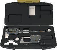 SYLVAC Messwerkzeug-Satz Sylvac IP67 Bluetooth® 3-teilig, im Kunststoffetui BASIC-DIGITAL / BT - toolster.ch
