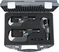 TESA Bügelmessschraubensatz digital MICROMASTER 0...75 / 0.001 / IP54 - toolster.ch
