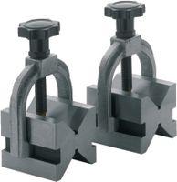 NERIOX Doppel-Prismen-Paar 2 Einschnitte 90°, inkl. Klemmbügel 40 x 40 x 50 - toolster.ch