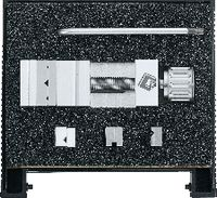 FUTURO Präzisions-Schraubstock-Set in Box, inkl. Backen-Satz+Schlüssel 25 x 25 x 75 / 113 x 90 - toolster.ch