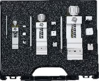 FUTURO Präzisions-Schraubstock-Set  ELOX im Koffer + Backen+Schl. f. TORX®-Schr. 15 / 25 / 35 - toolster.ch