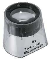 SCHWEIZER Standlupe  Tech-Line Glaslinse 8x / Ø 30 - toolster.ch