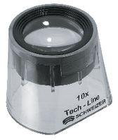 SCHWEIZER Standlupe  Tech-Line Glaslinse 10x / Ø 30 - toolster.ch