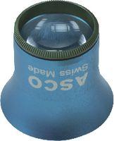 Uhrmacherlupe aus Aluminium 1 / 10x / Ø 25 / grün - toolster.ch