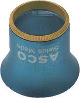 Uhrmacherlupe aus Aluminium 2 / 5x / Ø 25 / gelb - toolster.ch