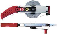 BMI Stahlbandmass gelb lackiert Polyamid-Beschichtung, Alu-Rahmen 30 m / 13 mm - toolster.ch