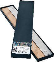 H+S Unterlagsfolien-Sortiment , Stahl 21 Folien, Format 25 x 300 mm 0.01...1.0 / 25 / 300 - toolster.ch