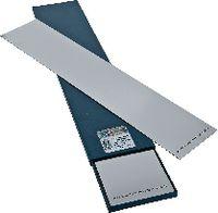 H+S Unterlagsfolien-Sortiment , INOX Sortiment à 9 Blatt, Format 100 x 500 mm 0.02...1.00 / 100 / 500 - toolster.ch