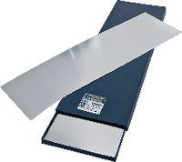 H+S Unterlagsfolien-Sortiment , INOX Sortiment à 10 Blatt, 150 x 500 mm 0.025...0.5 / 150 / 500 - toolster.ch