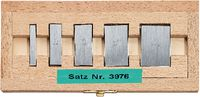 FUTURO Parallelendmass-Satz  Stahl für Bügelmessschrauben-Prüfung 5-teilig 0 / 5 - toolster.ch