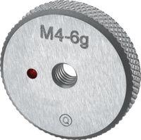NERIOX Gewinde-Ausschusslehrring metrisch M2 6g - toolster.ch