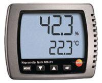 TESTO Hygrometer  608 H1 / 0...+50 °C / +10...+95 %rF - toolster.ch
