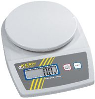 KERN Kompakt-Waage digital Wägeplatte Ø 150 mm 500 g / 0.1 g - toolster.ch