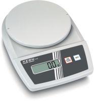 KERN Kompakt-Waage digital Wägeplatte Ø 150 mm 3000 g / 0.1 g - toolster.ch