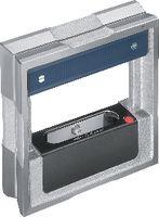 FUTURO Präz. Rahmen-Wasserwaage mit 3 prismatischen Sohlen 150 x 40 / 0.02 mm/m / DIN 877 - toolster.ch