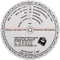 Gewindeschieber für metrisches, Ww- und Rohrgewinde M1.6...M52 / Wv / G - toolster.ch