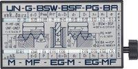 Gewinde-Schlüssel Gewinde-Bezeichnung/-Bestimmungsgrössen Filetor - toolster.ch
