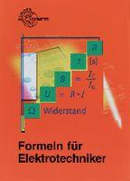 Fachbuch Europa Lehrmittel DE Formeln für Elektrotechniker - toolster.ch
