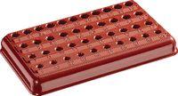 Bakelit-Sockel leer, rot 6100 / 6-10 - toolster.ch