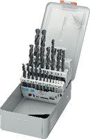 FUTURO Sortiment Spiralbohrer Typ N, HSS, in Metallkassette E / 1-10.5/0.5 + Kernlochbohrer - toolster.ch