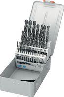 FUTURO Sortiment Spiralbohrer Typ N, HSS, in Metallkassette F / 1-10.5/0.5 + Kernlochbohrer - toolster.ch