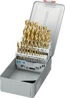 FUTURO Sortiment Spiralbohrer Typ N, HSS, TiN, in Metallkassette B TiN / 1-13 (Abstufung 0.5) - toolster.ch