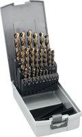 FUTURO Sortiment Spiralbohrer HSS-E, DIN 338, mit Fläche 1...13 - toolster.ch
