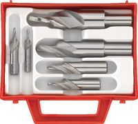 Sortiment Kurz-Stufenbohrer HSS-E 90° - M3/M4/M5/M6/M8/M10 - toolster.ch