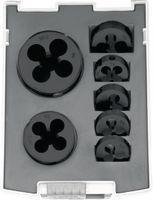 NERIOX Sortiment Schneideisen  HSS-E 7-teilig M3 - M12 - toolster.ch