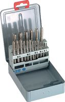 DC Satz-Gewindebohrer-Sortiment in Stahlblechetui M3 - M12 - toolster.ch