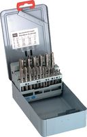 DC Handgewindebohrer-Sortiment inkl. Kernloch-Spiralbohrer M3 - M12 - toolster.ch