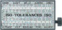 ISO-Toleranz-Schlüssel mit Nennmass bis 500 mm Tolerator - toolster.ch