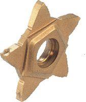 ISCAR Auswechselbare Wendeplatte PENTA 24N-J PENTA 24N050J000 IC 908 - toolster.ch