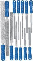 VALLORBE Sortiment Präzisionsfeilen LP1920 12-teilig, mit Griff - toolster.ch