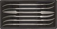 VALLORBE Sortiment Riffelfeilen LR12186, 6-teilig, 180mm Hieb 2 - toolster.ch