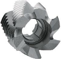 FUTURO Walzenstirnfräser Typ NR, HSS-Co8, DIN 1880 40 - toolster.ch