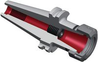 DIEBOLD Spannzangenfutter DIN 69871A SK 40 ER 25 (0.5-16) - toolster.ch