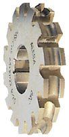 FRANKEN Halbkreisfräser konkav Typ N, HSS, DIN 8555A 5 - toolster.ch