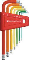 PB Swiss Tools Farbiger Sechskantstiftschlüssel-Satz PB 212 H-6 RB - toolster.ch