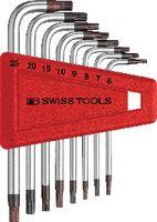 PB Swiss Tools Winkelstiftschlüsselsatz PB für TORX®-Schrauben 410 H/6-25 - toolster.ch
