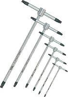 USAG Satz Stiftschlüssel mit T-Griff für TORX®-Schrauben T6-T25 / 8-teilig - toolster.ch