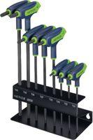 NERIOX Schraubenziehersatz für TORX®-Schrauben, mit Seitenabtrieb 8-tlg., T 10...T 45 - toolster.ch