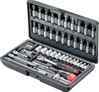 """JET Jeu de clés à douilles à six pans 1/4"""" / 46 pièces / X-546D - toolster.ch"""