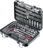 """JET Jeu de clés à douille six pans 1/4"""" + 1/2"""" / 111pièces / X-111 - toolster.ch"""