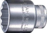"""STAHLWILLE Zwölfkanteinsatz 1/2"""" 50 19 mm - toolster.ch"""